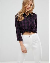 Lee Jeans - Relaxed Shirt In Check - Lyst