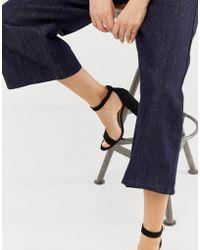 Pimkie - Heeled Sandals In Black - Lyst