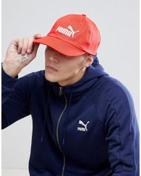 Essentials Cap In Red 05291957 - Red Puma AXyfNUQLjT