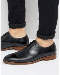 Steve Madden - Markey Leather Oxford Shoes - Lyst