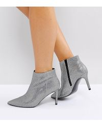 ASOS - Asos Emberly Wide Fit Pointed Ankle Boots - Lyst