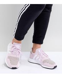 info for 9032c 00b21 adidas Originals - Swift Run Sneakers In Pink Multi - Lyst