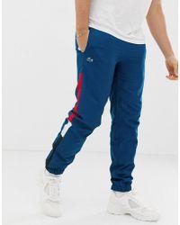 Lacoste - Side Stripe jogging Bottoms - Lyst