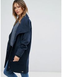 Bellfield - Tasola Wool Mix Cocoon Coat - Lyst