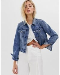 Sass & Bide - Structured Denim Jacket - Lyst