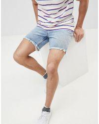 Cheap Monday - Sonic Slim Cut Off Shorts - Lyst