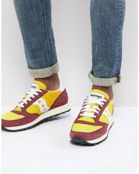 Saucony - Jazz Original Sneakers In Yellow S70368-16 - Lyst
