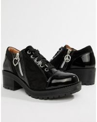 Love Moschino - Side Zip Heeled Shoes - Lyst