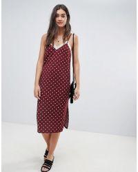 1cbe7fe3add Lyst - Liquorish Embroidered Star Maxi Dress With Ruffles in Black