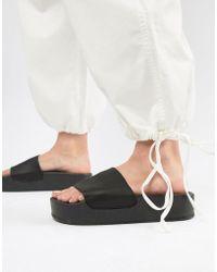 Stradivarius - Flatform Sandal - Lyst