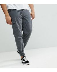 Another Influence - Plus Cargo Trousers - Lyst
