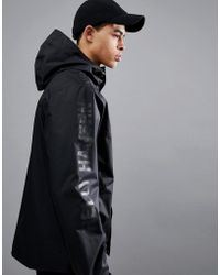 Helly Hansen - Ervik Jacket With Sleeve Logo In Black - Lyst