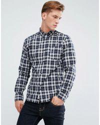 Bellfield - Flannel Check Shirt - Lyst