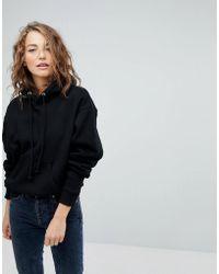 Weekday - Hooded Sweatshirt - Lyst
