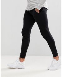 ASOS - Super Skinny Jogger In Black - Lyst