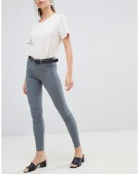 e5166a31ad95a4 Lyst - Charlotte Russe Refuge Skin Tight Legging Destroyed Jeans in ...