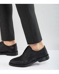 Wide Fit Derby Shoes in Black - Black Asos CKgUGTdu