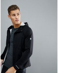 Asics - Running Accelerate Jacket In Black 154594-0904 - Lyst