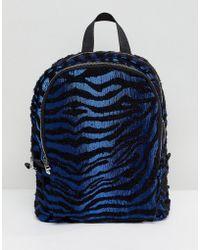 ASOS - Zebra Backpack - Lyst