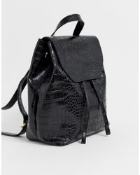 ASOS Croc Backpack