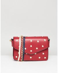 Ivyrevel - Pu Cross Body Bag With Faux Pearl Detail - Lyst