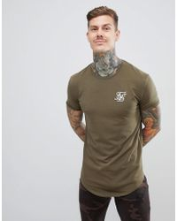 79e0951e Bee Inspired Muscle Fit T-shirt In Camo in Green for Men - Lyst