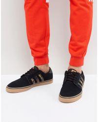 Adidas Originali Seeley Formatori In Con Gumsole By4015 In Formatori Nero 223b27