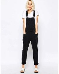 Dr. Denim - Vilde Relaxed Dungaree - Lyst