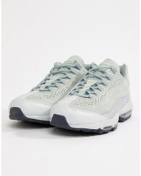 Nike - Air Max 95 Ultra Premium Trainers In Grey Ao2438-001 - Lyst