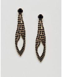 Nylon | Diamante Drape Earrings | Lyst