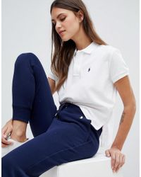 Polo Ralph Lauren - Bring It Back Pack Cropped Polo Shirt - Lyst