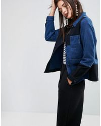 YMC | Patchwork Workwear Jacket | Lyst