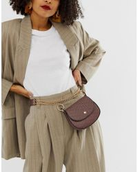 ASOS - Saddle Purse Waist And Hip Belt In Horse Shoe Print - Lyst