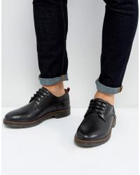 KG by Kurt Geiger - Kg By Kurt Geiger Marston Lace Up Shoes Black Leather - Lyst