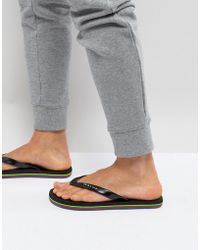 PS by Paul Smith - Dale Flip Flop In Black - Lyst