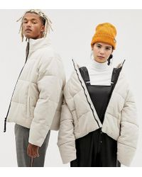 Collusion - Unisex Cord Puffer Jacket - Lyst