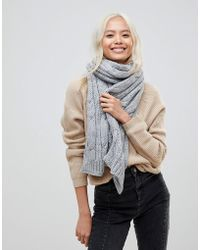 French Connection | Chunky Knitted Scarf | Lyst