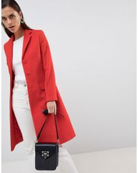 Helene Berman - Longline Wool & Cashmere Blend University Coat - Lyst