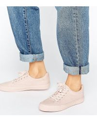 ASOS - Darby Lace Up Trainers - Lyst