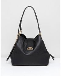Dune - Shoulder Bag In Black - Lyst