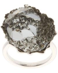Swarovski - Crystal Poison Cocktail Ring - Lyst