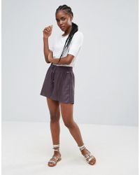 Bellfield - Linum Lace And Ladder Shorts - Lyst