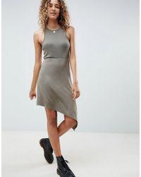 ASOS - Extreme Racer Mini Dress - Lyst
