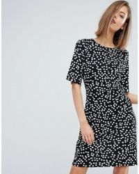 Warehouse - Ditsy Floral Shift Dress - Lyst
