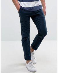 Hollister - Skinny 5 Pocket Pants In Blue - Lyst