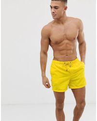 Jack & Jones - Intelligence Swim Shorts With Contrast Lining - Lyst
