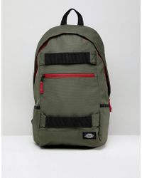 Dickies - Ellwood City Back Pack With Skate Straps In Green - Lyst
