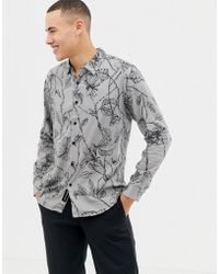 Native Youth - Floral Print Shirt - Lyst