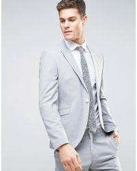 SELECTED - Slim Suit Jacket With Peak Lapel - Lyst