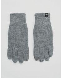 Jack & Jones - Touchscreen Gloves - Lyst